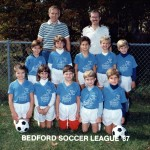 1987's soccer team - Now all grown up. They were pretty cute back then, weren't they!
